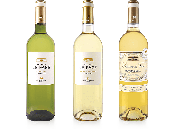 Château Le Fagé vins blancs