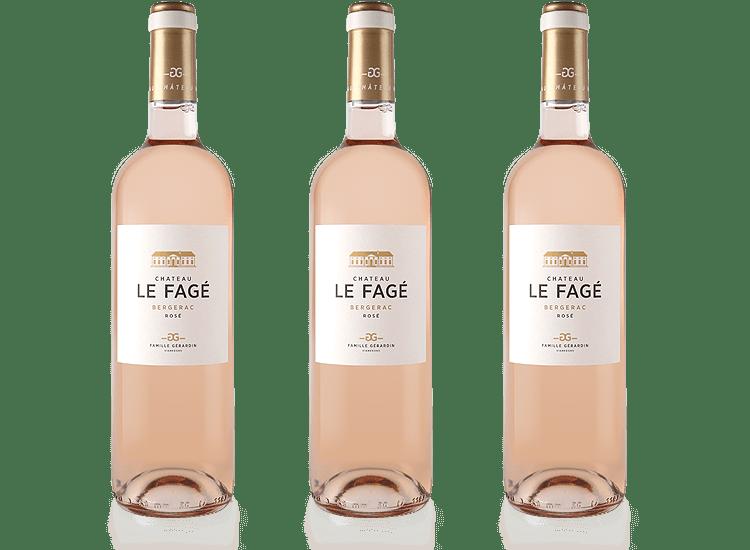 Château Le Fagé vins rosés