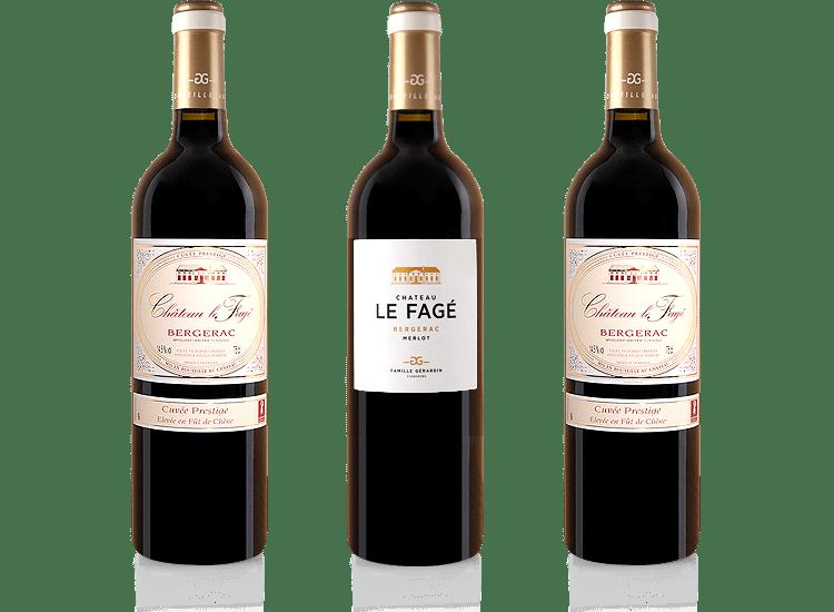 Château Le Fagé vins rouges